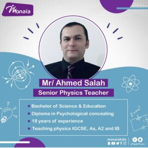 Physics IGCSE Tutor, Ahmed Salah – SA