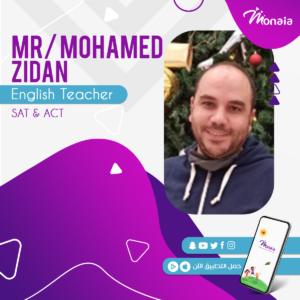 English SAT Tutor – Mohammed Zidan