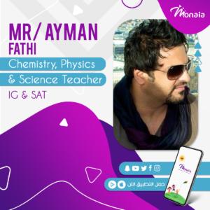 Physics SAT Tutor – Ayman Fathy