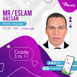 Math IGCSE Tutor – Eslam Hassan