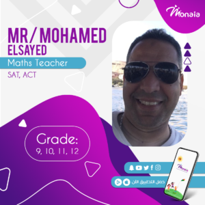 Math SAT Tutor – Mohamed Elsayed