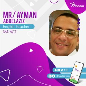 English SAT Tutor – Ayman AbdelAziz