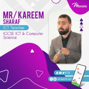 ICT IGCSE Tutor – kareem sharaf