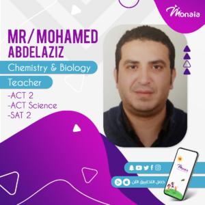 Chemistry & Biology SAT Tutor – Mohamed Abdelaziz