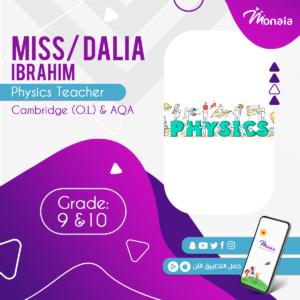 Physics IGCSE Tutor – Dalia Ibrahim