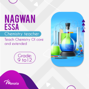 Chemistry IGCSE Tutor – Nagwan Essa