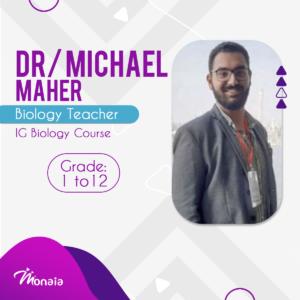 Biology IGCSE Tutor – Michael Maher