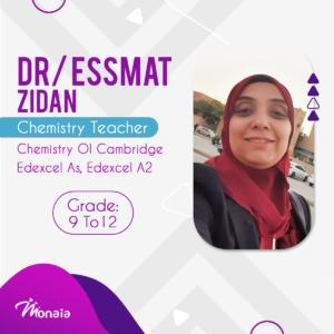 Chemistry IGCSE Tutor – DR. Essmat zidan