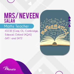 Math SAT Tutor -Neven Salah