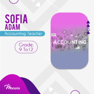 English and Accounting  Tutor – Sofia Adam
