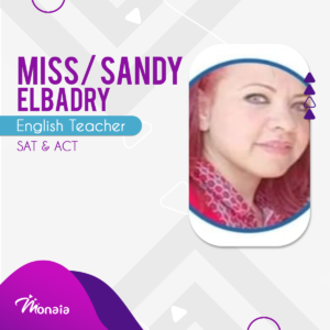 English SAT Tutor –  Sandy Elbadry