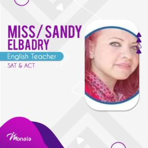 English SAT Tutor –  Sandy Elbadry