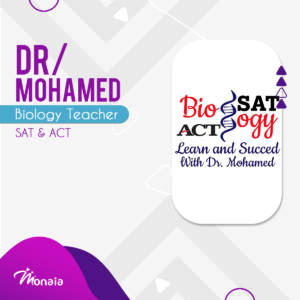 Biology Tutor – Dr Mohammed