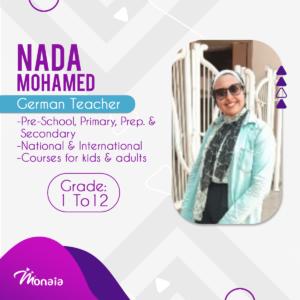 German Tutor – Nada Mohamed