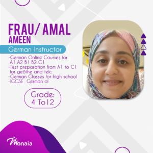German Tutor – Amal Ameen