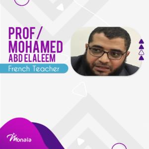 French Tutor – Mohamed Abdelaleem