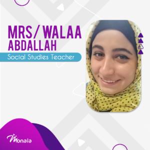 Social Studies – Walaa Abdallah